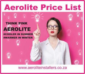 Aerolite ceiling insulation price